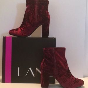 Lane Bryant Stretch Ankle Boot size 7w